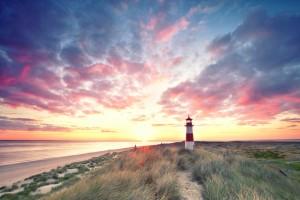 Dunes at the lighthouse, Sylt. © Jenny Sturm