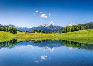Mountain lake in the Alps © JFL Photography